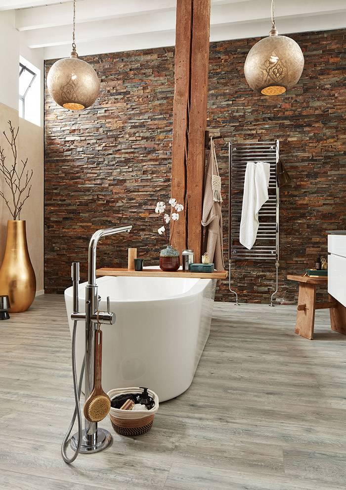 badezimmer mit laminatboden von geenen holz